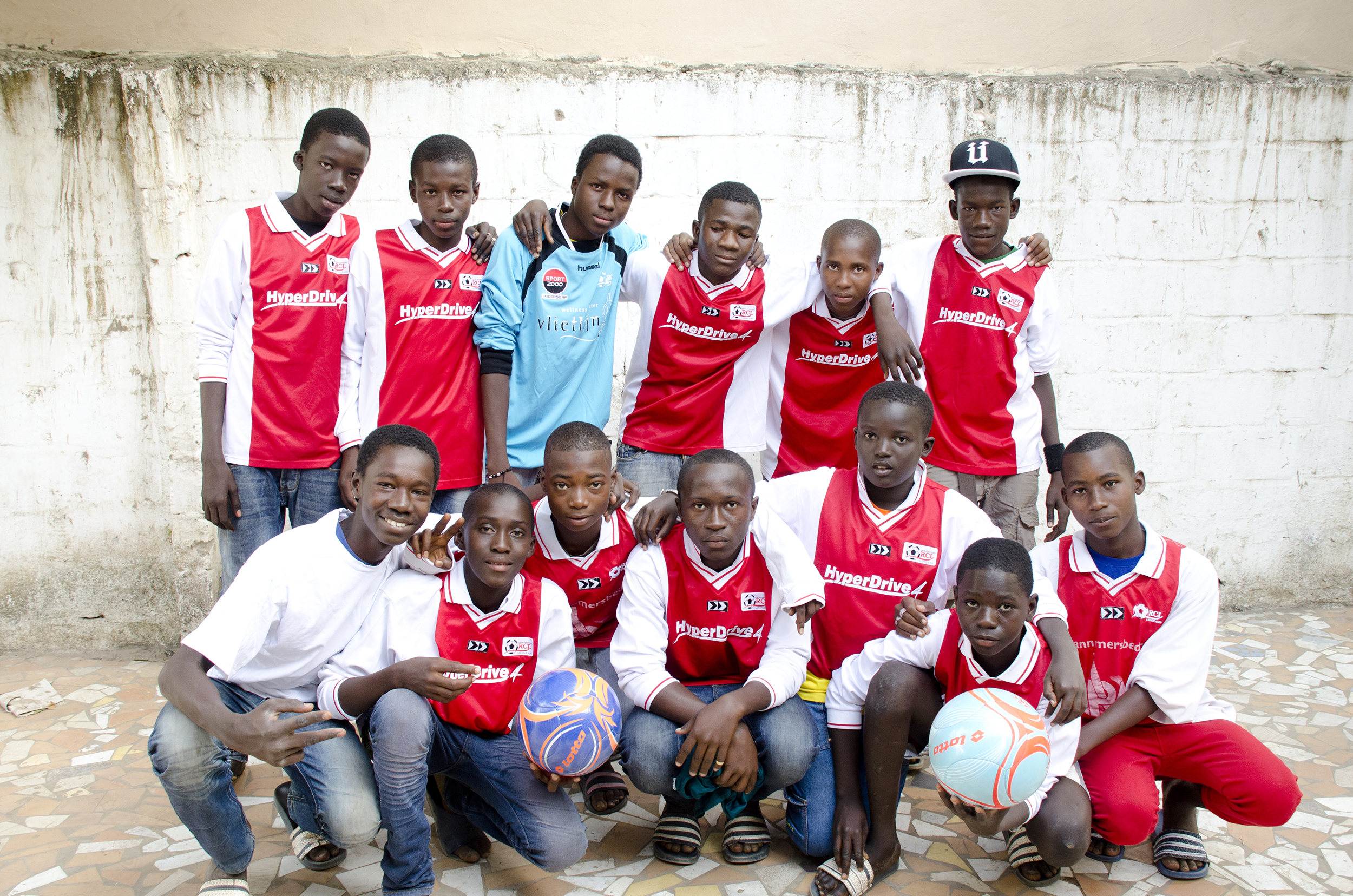Voetbal Gambia